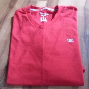 Champion Red T shirt